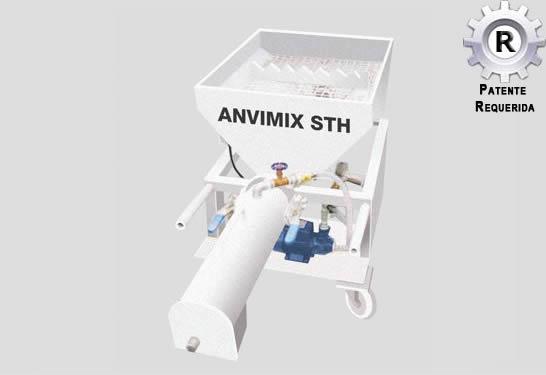 Misturador de Argamassa ANVIMIX STH