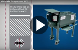 Misturador de Argamassa ANVI 300